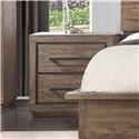 Austin Group Haven Nightstand with Hidden Wireless Phone Charge - Item Number: 720-20