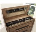 Austin Group Haven Lift Top Chest with Jewelry Tray - Item Number: 720-40
