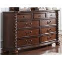 Austin Group Montarosa Montarosa 9 Drawer Dresser - Item Number: 611-10