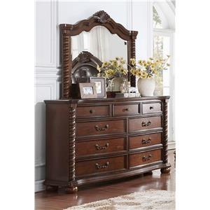 Austin Group Montarosa Dresser & Mirror