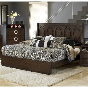 Captivating Austin Group Presley 520 Queen Bed