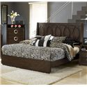 Austin Group Presley 520 Contemporary King Bed - Bed Shown May Not Represent Size Indicated
