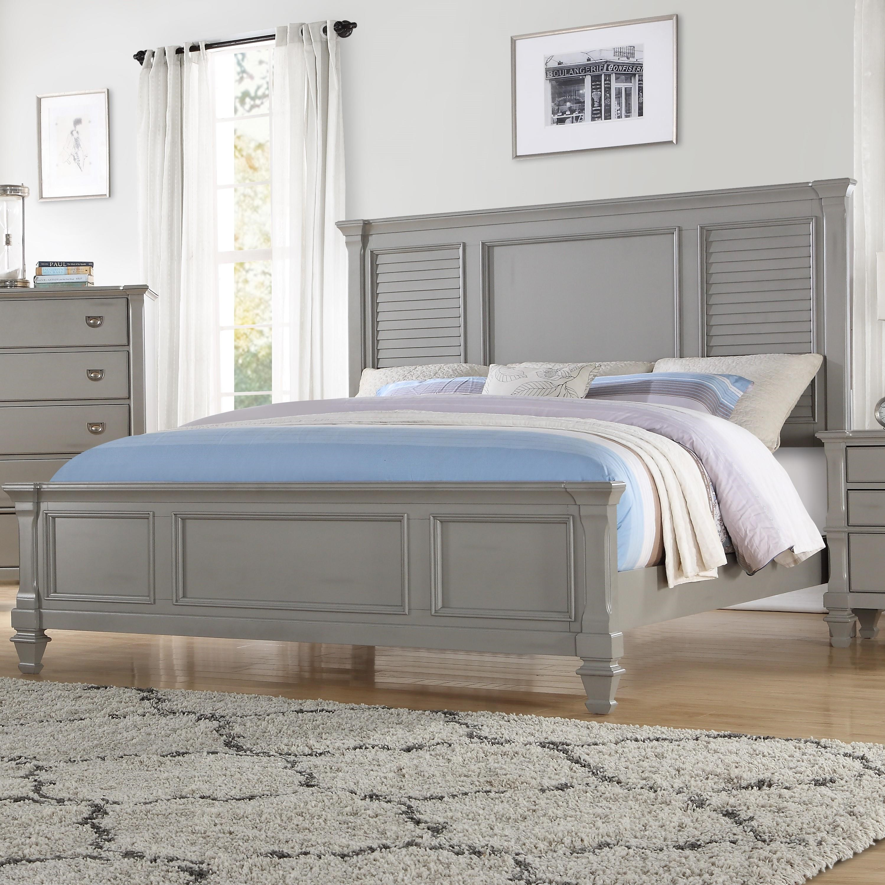Austin Group Seabrook King Bed Royal Furniture Panel Beds