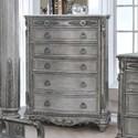 Avalon Antique Platinum Chest of Drawers - Item Number: B00826-C