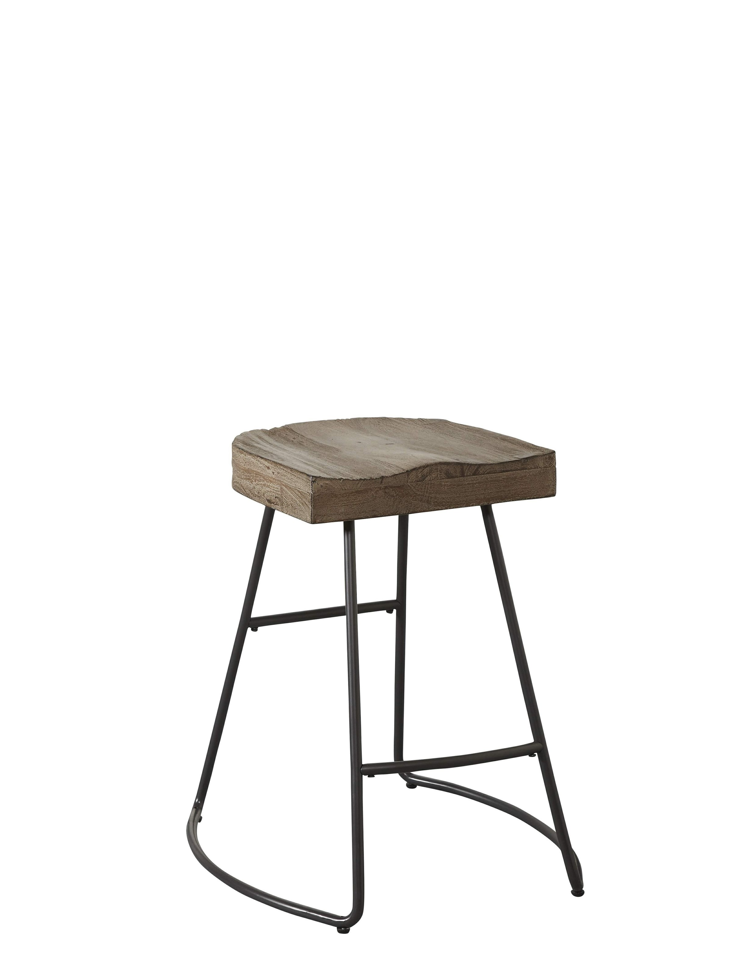 Avalon Furniture Barstools Saddle Seat Counter Stool - Item Number: B2015-GC103