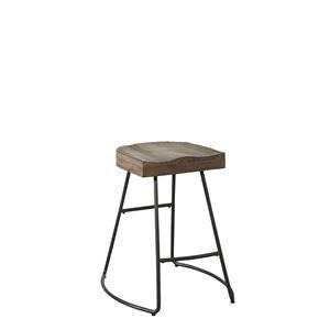 Avalon Furniture Barstools Saddle Seat Counter Stool