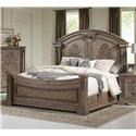 Avalon Furniture Tuscany King Panel Bed - Item Number: 56R + 6F + 6H