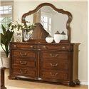 Avalon Furniture B00310 Dresser and Mirror - Item Number: B00310 D+M