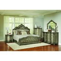 Avalon Furniture B02011 Queen Bedroom Group - Item Number: B02011 Q Bedroom Group
