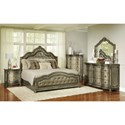 Avalon Furniture Seville Queen Bedroom Group - Item Number: B02011 Q Bedroom Group