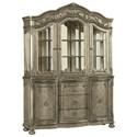 Avalon Furniture Seville Large China Cabinet - Item Number: D02011 CHINA
