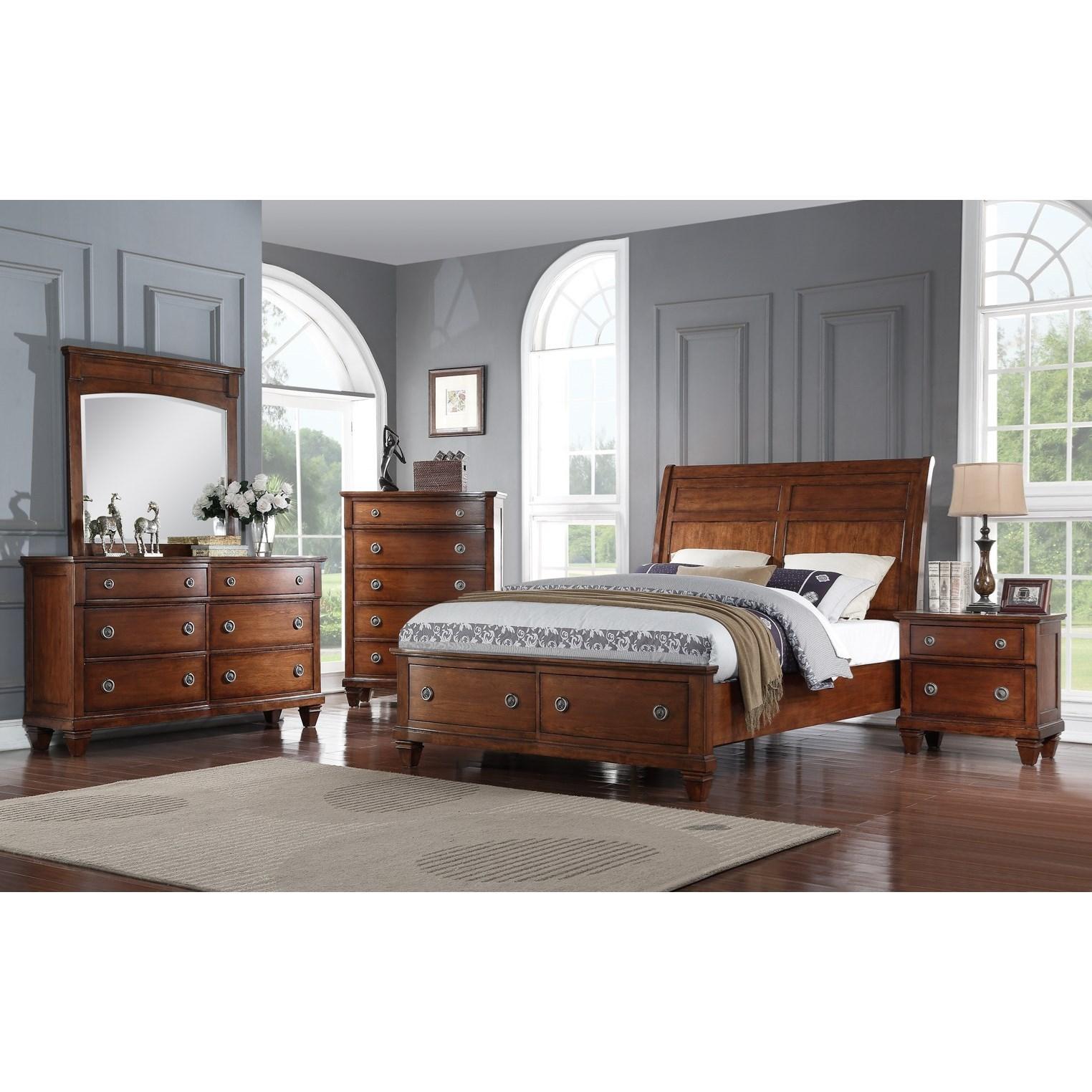 Furniture Corp: Avalon Furniture B068 Chest