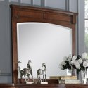 Avalon Furniture B068 Dresser Mirror - Item Number: B068 M