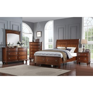 Avalon Furniture B068 Queen Bedroom Group