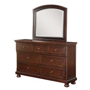 Avalon Furniture Sophia Dresser & Mirror