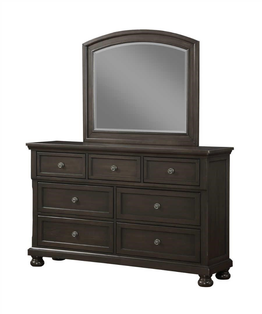 Avalon Furniture Soriah Dresser & Mirror - Item Number: AVAL-GRP-B1061-DRM