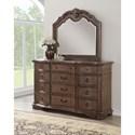 Avalon Tulsa Dresser and Mirror Set - Item Number: B1495 D+M