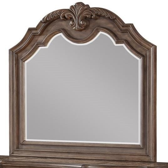 Tulsa Mirror by Avalon Furniture at Household Furniture