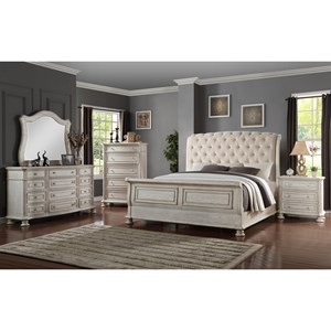 Avalon Furniture Barton Creek Queen Bedroom Group