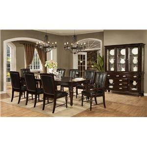 Avalon Furniture Dundee Place Formal Dining Room Group