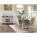 Avalon Furniture Mystic Cay Formal Dining Group - Item Number: D0042 Dining Room Group 3