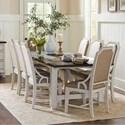 Avalon Furniture Mystic Cay 9 Pc Dining Set - Item Number: D00042-DT+8XDC