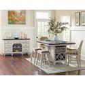 Avalon Furniture Mystic Cay Formal Dining Room Group - Item Number: D042 Dining Room Group 2