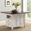 Avalon Furniture Newport Kitchen Island - Item Number: D00035 KI