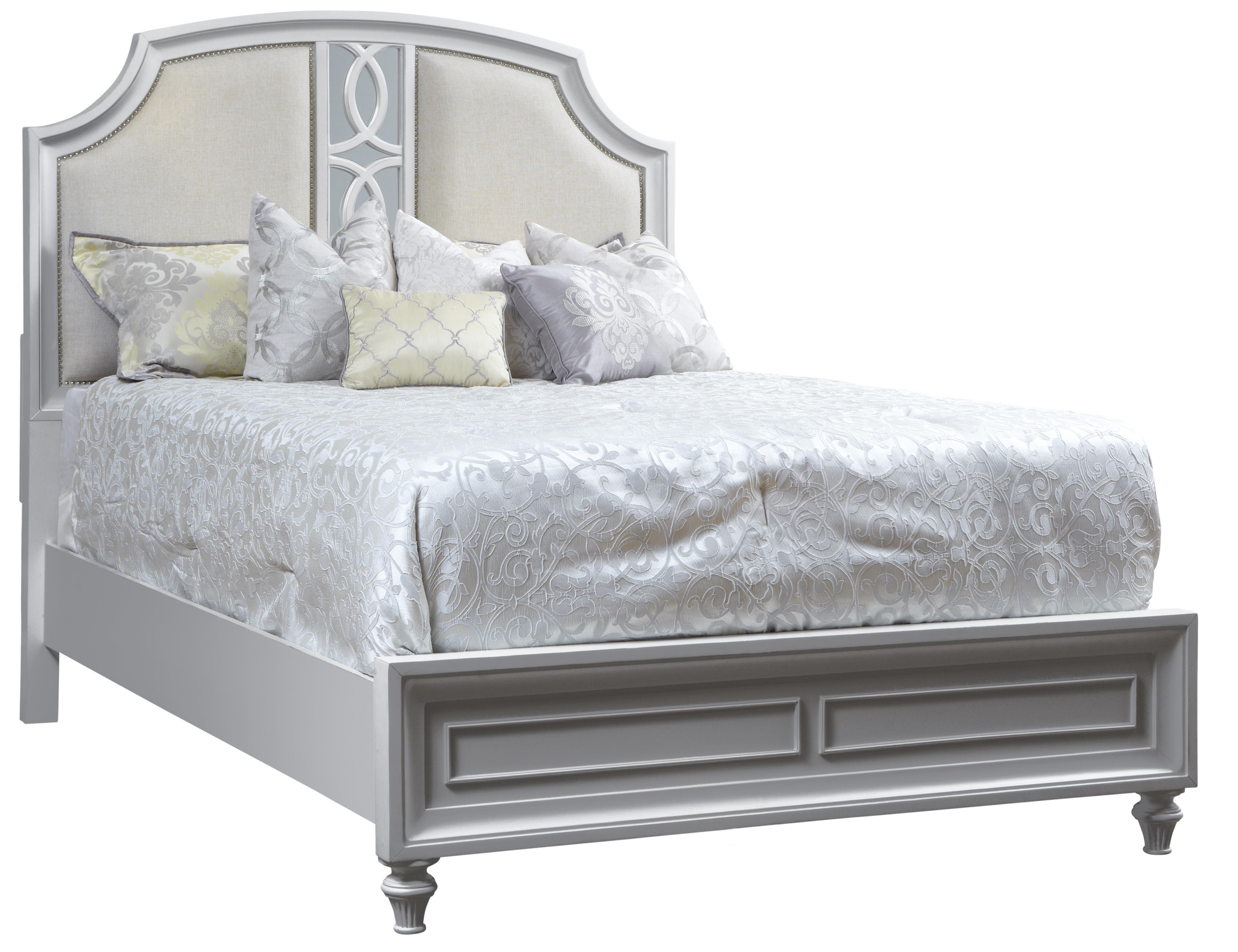Avalon Furniture Regency Park Queen Panel Bed - Item Number: B4815H+5F+56R