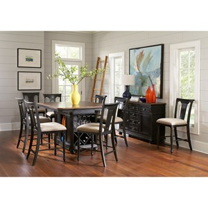 Avalon Furniture Rivington Hall Casual Dining Room Group