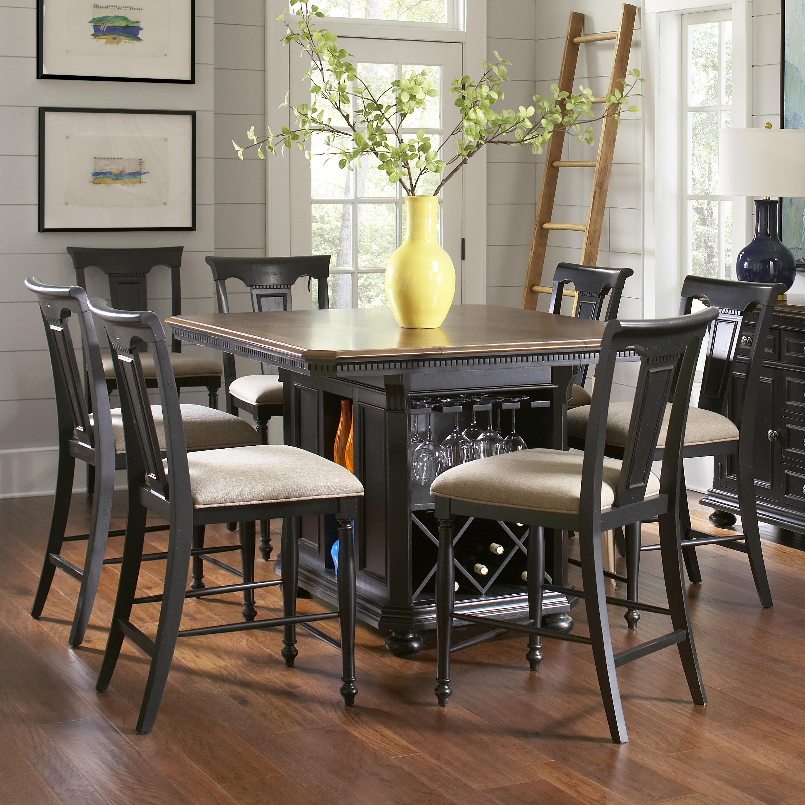Avalon Furniture Rivington Hall Traditional 7-Piece