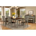 Avalon Furniture Shaker Nouveau Casual Dining Room Group - Item Number: D00033 Dining Room Group 1