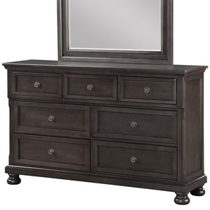 Avalon Furniture Sophia B01061 Dresser w/ Hidden Drawer