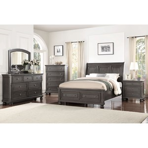 Avalon Furniture Sophia B01061 Queen Bedroom Group