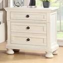 Avalon Furniture Savannah 2-Drawer Nightstand w/ Hidden Drawer W/ USB - Item Number: B01163 N