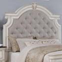 Avalon Furniture West Chester King Upholstered Bed  - Item Number: B00162 6H