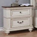 Avalon Furniture West Chester Night Stand with USB Charging Port - Item Number: B0162 N