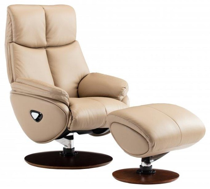Alicia Recliner and Ottoman by Barcalounger at Johnny Janosik