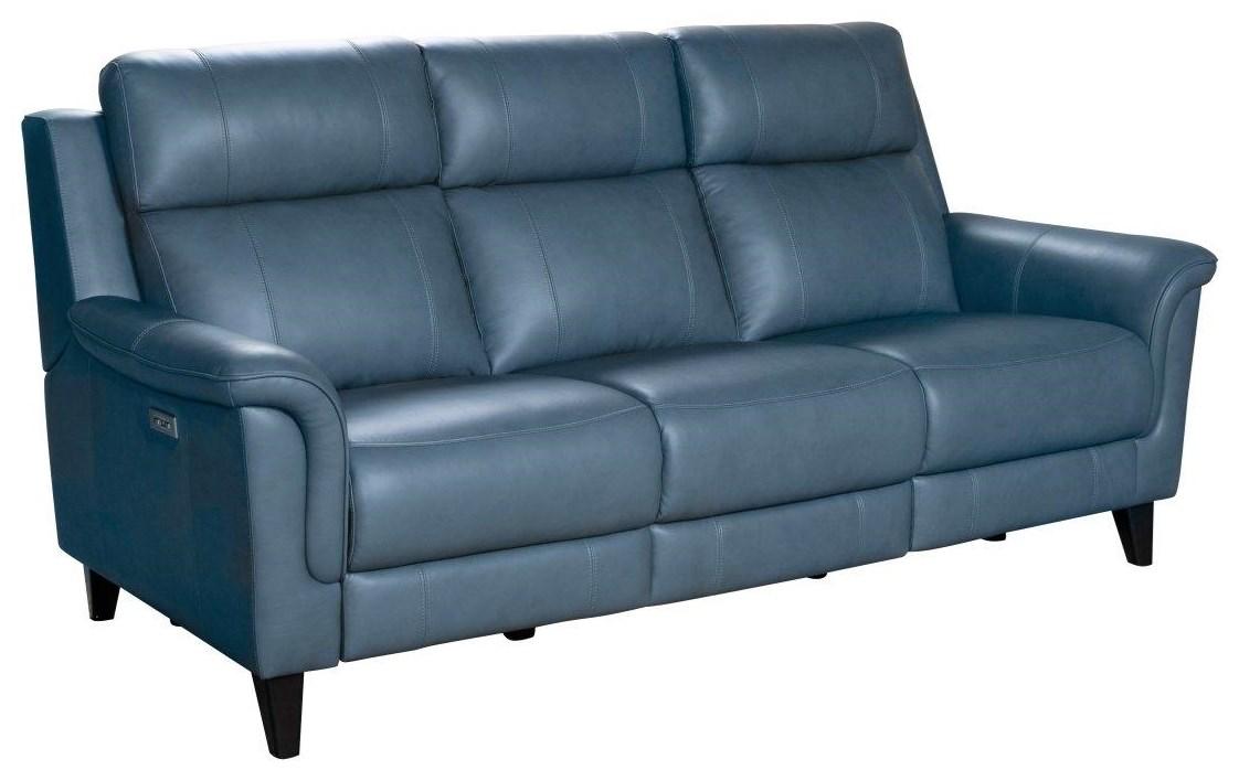 Kester Reclining Powered Headrest Sofa by Barcalounger at Johnny Janosik