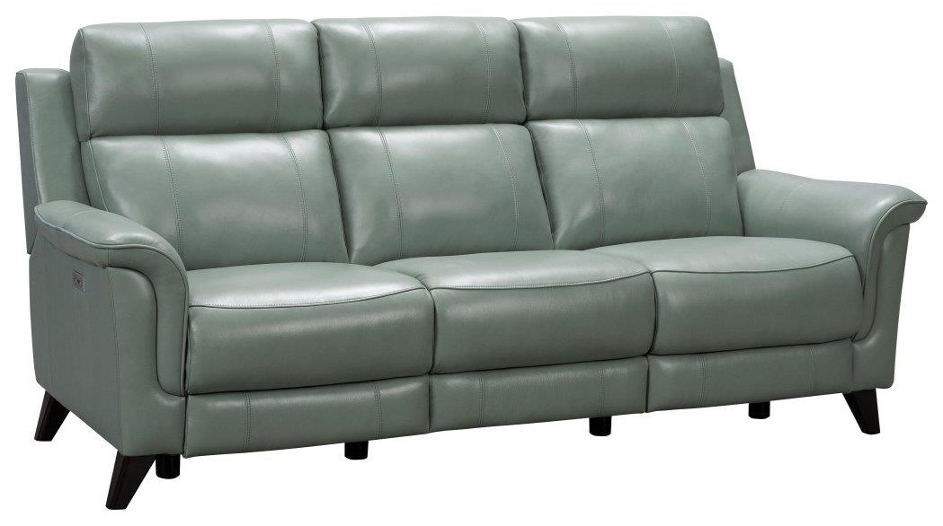 Kester Reclining Powered Headrest Sofa by Barcalounger at Johnny Janosik
