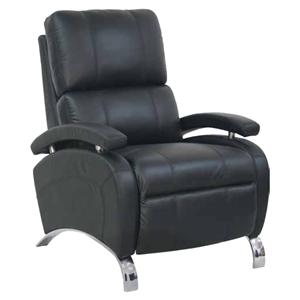 Metro Living Oracle II Recliner with Polished Chrome Accents for Modern Style by Barcalounger