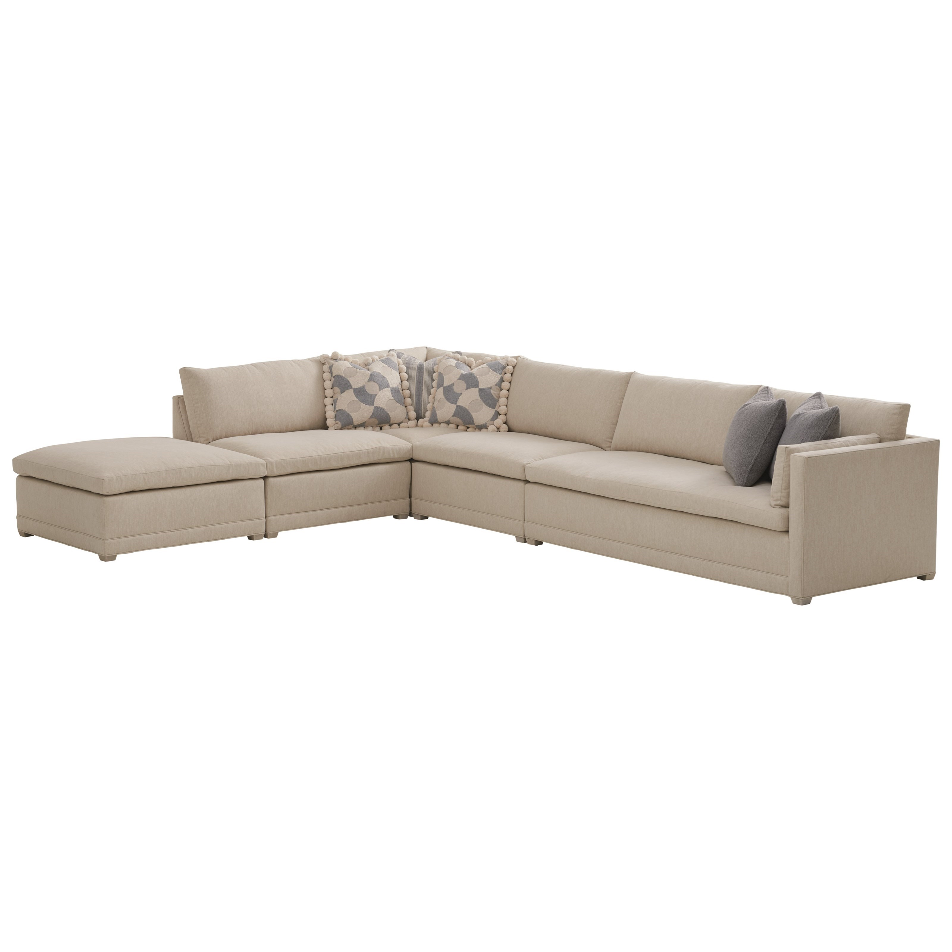 Barclay Butera Upholstery Colony Sectional by Barclay Butera at Baer's Furniture
