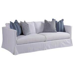 Barclay Butera Barclay Butera Upholstery Marina White Slipcover Sofa