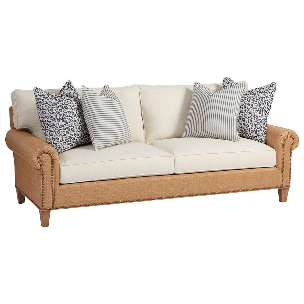 Barclay Butera Barclay Butera Upholstery Watermill Sofa - Item Number: 5150-33-4258-11+4944-12