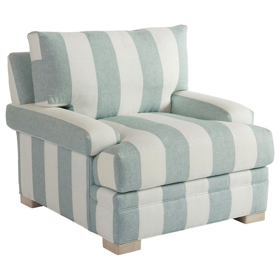 Barclay Butera Upholstery Maxwell Chair by Barclay Butera at Baer's Furniture