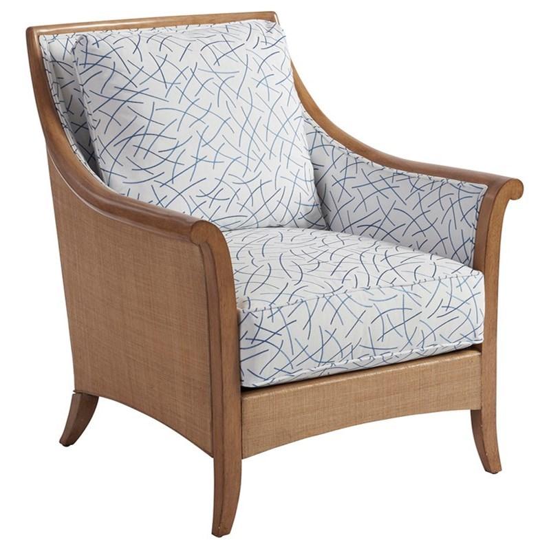 Barclay Butera Upholstery Nantucket Raffia Chair by Barclay Butera at Baer's Furniture