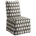 Barclay Butera Barclay Butera Upholstery Mackenzie Skirted Dining Side Chair - Item Number: 5385-12-6411-71