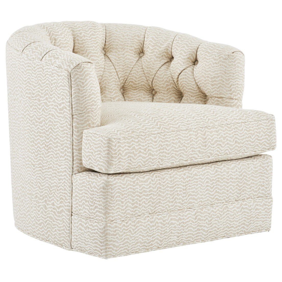 Barclay Butera Upholstery Cliffhaven Swivel Chair by Barclay Butera at Baer's Furniture