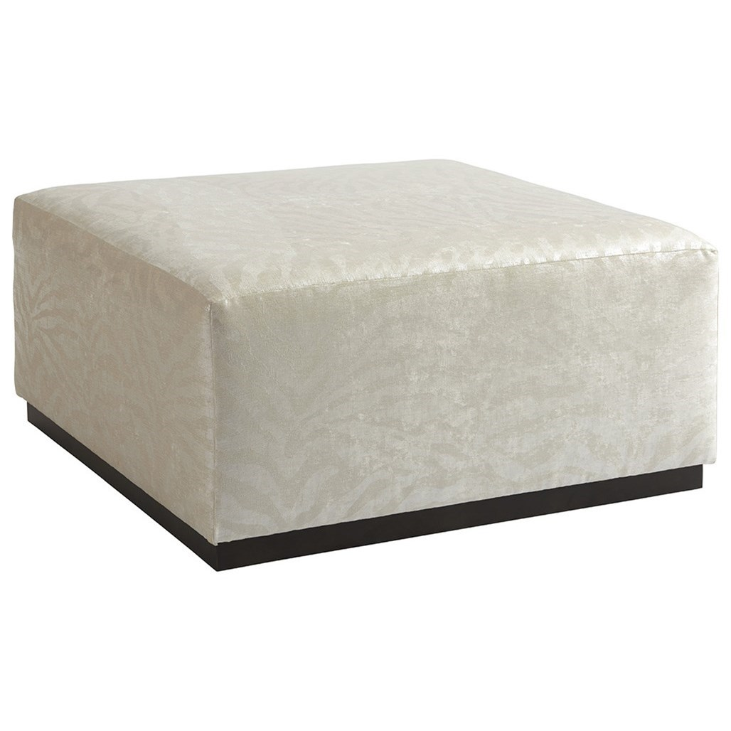 Barclay Butera Upholstery Clayton Cocktail Ottoman by Barclay Butera at Baer's Furniture