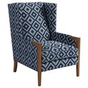 Barclay Butera Barclay Butera Upholstery Stratton Wing Chair - Item Number: 5520-11-6395-31